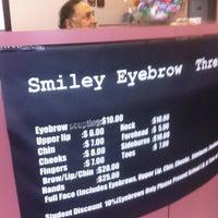 Smiley Eyes Eyebrow Threading - Cosmetics Shop