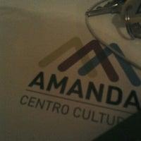 8/7/2012 tarihinde Adriana M.ziyaretçi tarafından Centro Cultural Amanda'de çekilen fotoğraf