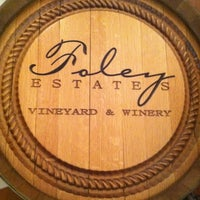 Das Foto wurde bei Foley Estates Vineyard & Winery von Alexander H. am 3/11/2012 aufgenommen