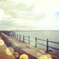 Das Foto wurde bei Castle Island von Lisa R. am 4/1/2012 aufgenommen