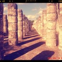 Foto tomada en Zona Arqueológica de Chichén Itzá por Viktoria V. el 11/12/2012