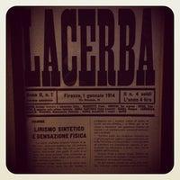 Снимок сделан в Lacerba пользователем Riccardo P. 12/14/2012