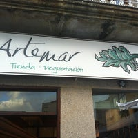 Снимок сделан в ARTEMAR Tienda Degustación. Cangas пользователем Alvientooo 8/2/2013