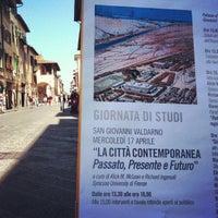 4/17/2013에 Le piazze del sapere SGV님이 Palazzo d'Arnolfo에서 찍은 사진
