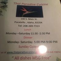 Thai Paradise Thai Restaurant Pho Old Town 3 Tips