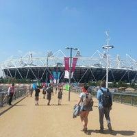 7/6/2013 tarihinde Kerry H.ziyaretçi tarafından Queen Elizabeth Olympic Park'de çekilen fotoğraf