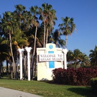 Photo Taken At Welcome To Miami Beach Sign By Ann A On 3 21