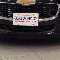 ... Photo taken at Commonwealth Motors by Dennis on 11/17/2014 ...