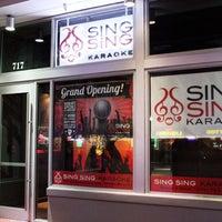 Das Foto wurde bei Sing Sing Karaoke - Miami Beach von Karaoke Q. am 12/8/2012 aufgenommen