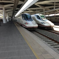 Foto tomada en Estación de Valencia Joaquín Sorolla - AVE por Patricia G. el 4/16/2013