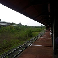 Foto tomada en Estación Central [Tren Ecológico de la Selva] por Mariano Antonio S. el 1/25/2014
