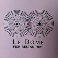 Снимок сделан в Restaurant Le Dome пользователем Tanya T. 3/9/2013
