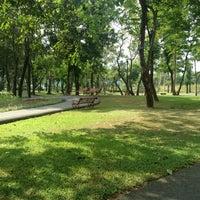 Das Foto wurde bei Rarm Intra Sport Park von Moo Supaporn am 4/28/2013 aufgenommen