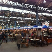Photo taken at Old Spitalfields Market by Ricardo B. on 11/29/2012