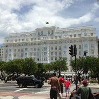 1/25/2013에 Língua S.님이 Belmond Copacabana Palace에서 찍은 사진