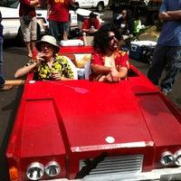 8/18/2012 tarihinde Raphaelle R.ziyaretçi tarafından Mt. Tabor Park'de çekilen fotoğraf