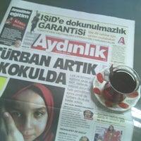 Photo prise au Aydınlık Gazetesi par Gizem le9/23/2014