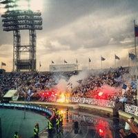 Foto tirada no(a) Стадион «Петровский» por Ann S. em 5/19/2013