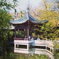 Das Foto wurde bei Chinesischer Garten von Jana Z. am 4/17/2013 aufgenommen