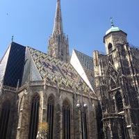 7/17/2013 tarihinde Lissy J.ziyaretçi tarafından Aziz Stephan Katedrali'de çekilen fotoğraf
