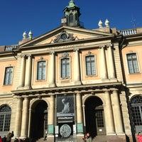 Foto tomada en Nobel Museum por Svetlana K. el 3/10/2013