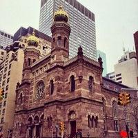 รูปภาพถ่ายที่ Central Synagogue โดย Alex C. เมื่อ 3/2/2014
