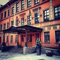 Снимок сделан в Отель «Введенский» пользователем Natalia B. 1/5/2013