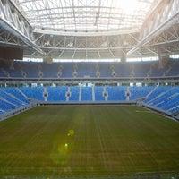 Снимок сделан в Стадион «Санкт-Петербург» пользователем Стадион «Санкт-Петербург» 4/18/2017