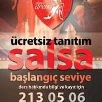 Das Foto wurde bei Dans Arena Dans ve Spor Kulübü von Dans Arena Dans ve Spor Akademisi am 5/16/2013 aufgenommen