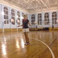 """รูปภาพถ่ายที่ Бадминтонный клуб """"Спорт-Ресурс"""" โดย Oleksandr K. เมื่อ 8/6/2013"""