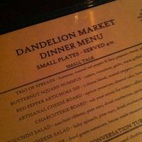 Das Foto wurde bei Dandelion Market von Allison D. am 12/6/2012 aufgenommen