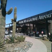 Снимок сделан в Phoenix-Mesa Gateway Airport (AZA) пользователем Jeremy M. 2/18/2013