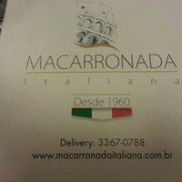 Foto tirada no(a) Macarronada Italiana por Julia S. em 2/12/2013