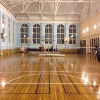 """รูปภาพถ่ายที่ Бадминтонный клуб """"Спорт-Ресурс"""" โดย Dimitry N. เมื่อ 5/14/2013"""