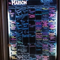 รูปภาพถ่ายที่ Maison โดย Dustin O. เมื่อ 11/21/2012