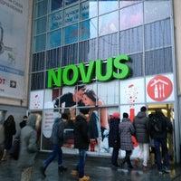 Снимок сделан в NOVUS пользователем Dasha T. 12/28/2012