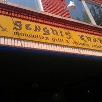 Снимок сделан в Genghis Khan Mongolian Grill пользователем Meredith E. 7/5/2013