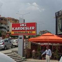 6/15/2013にMustafa G.がİki Kardeşler Kasap & Mangalda Etで撮った写真