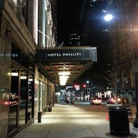Photo taken at Hotel Phillips, Curio Collection by Hilton by Robert J. on 1/30/2013
