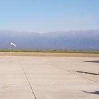 Foto tomada en Aeropuerto de La Rioja - Capitán Vicente Almandos Almonacid (IRJ) por Karen Y. el 10/23/2017