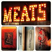 Снимок сделан в Meats пользователем clara a. 1/20/2013