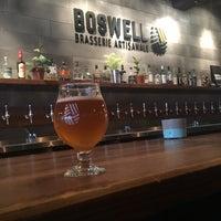 Photo prise au Boswell Brasserie Artisanale par Denise W. le5/21/2018