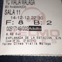 Photo prise au Yelmo Cines Vialia-Málaga 3D par Marta C. le12/14/2012