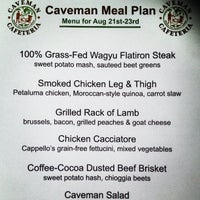 8/21/2013にWill W.がCaveman Cafeteria: Where The Hunters Gather!で撮った写真