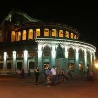 Снимок сделан в Армянский театр оперы и балета им. Спендиарова пользователем Elena P. 6/3/2013