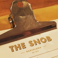 Photo prise au The Snob par BonVivant.es le4/9/2016