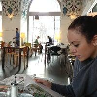 Снимок сделан в Café-Restaurant CORBACI пользователем Erika V. 2/17/2013