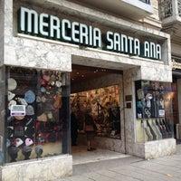 Mercería Santa Ana Knitting Store In Barcelona