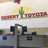 Photo Taken At Desert Toyota Of Tucson By Joe M On 1 31