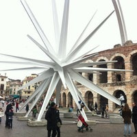 Stella Di Natale A Verona.Stella Di Natale Monument Landmark In Verona